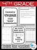 Fourth Grade Math Review: Quick Assessments - Geometry - 4.G