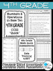 Fourth Grade Math Review: Quick Assessments - Number and Operations - 4.NBT
