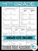 4th Grade Math Review: Quick Assessments - Number and Oper