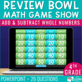 4th Grade Math Game | Add and Subtract Whole Numbers