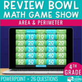 Area and Perimeter Game Show | 4th Grade