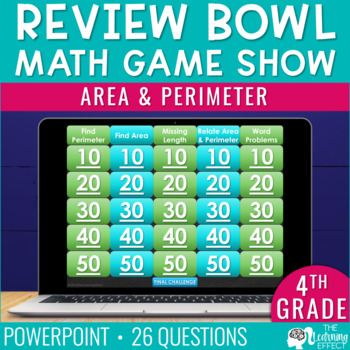 4th Grade Math Game - Area & Perimeter