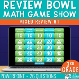 3rd Grade Math Review #1 Game Show End of Year