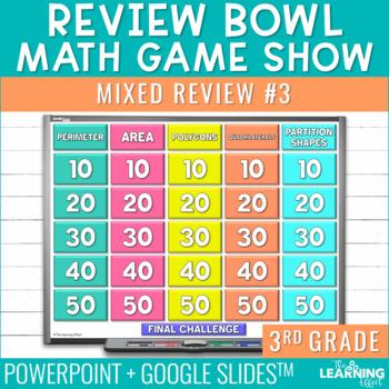 4th Grade Math Game | Beginning of Year #3
