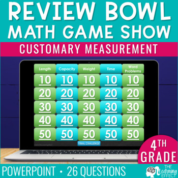 4th Grade Math Game | Customary Measurement