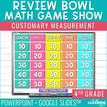 4th Grade Math Game - Customary Measurement