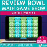 4th / 5th Grade Math Game - End / Beginning of Year #1