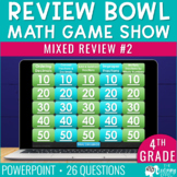 4th Grade Review #2 Game Show | End of Year