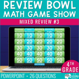 4th Grade Math Review #3 Game Show End of Year