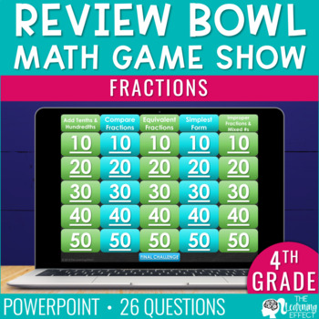 4th Grade Math Game | Fractions