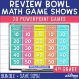 4th Grade Math Game Review | BUNDLE