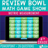 Metric Measurement Game Show | 4th Grade