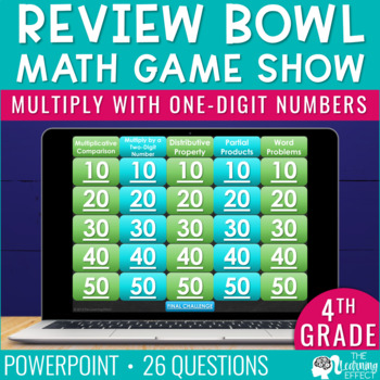 4th Grade Math Game - Multiply with One-Digit Numbers