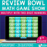 Multiply with Two-Digit Numbers Game Show | 4th Grade