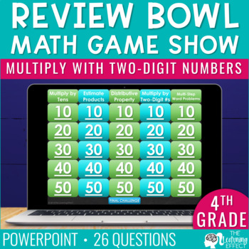 4th Grade Math Game - Multiply with Two-Digit Numbers