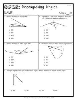 4th Grade Math Quizzes for the Entire Year, 56 CCSS-Aligned Assessments!