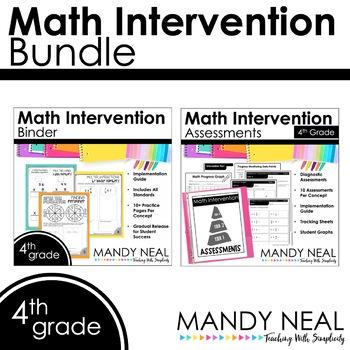 4th Grade Math RTI Standards Based Bundle