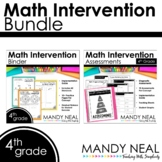 4th Grade Math RTI Standards Based Bundle