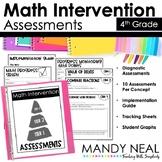 4th Grade Math Intervention Assessments