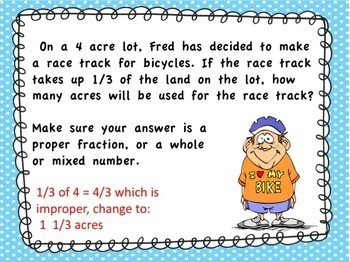 4th Grade Math Race Word Problem PowerPoint