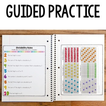 4th Grade Math Reference Notes for Interactive Notebooks