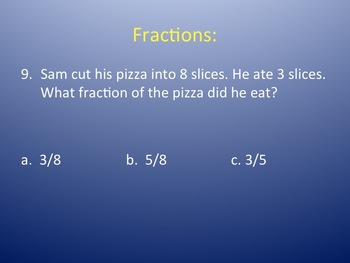 4th Grade Math Review 3rd Quarter PowerPoint
