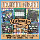 4th Grade Math Curriculum Bundle: 4th Grade Math Review, Y