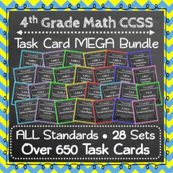 4th Grade Math Curriculum Bundle: 4th Grade Math Review, Yearlong Math Bundle