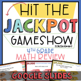 4th Grade Math Review End of Year Game Show Google Slides