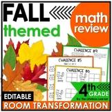 Fall Math Classroom Transformation - 4th Grade Math Review