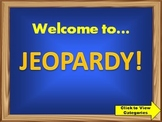 4th Grade Math Review Jeopardy PowerPoint Game (Common Core Standards)