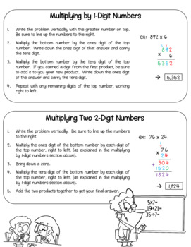 Genius image in 5th grade math packet printable