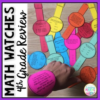4th Grade Math Review | Test Prep | Watches Game