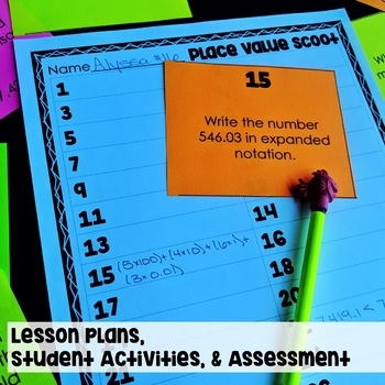 4th Grade Math Review Unit with Lesson Plans