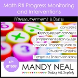 4th Grade Math RtI Assessments & Intervention Binder for M
