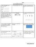 4th Grade Math SOL Review