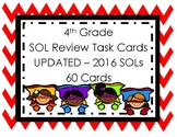 4th Grade Math SOL Review Task Cards UPDATED 2016 Standards