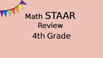 4th Grade New TEKs End of the Year Review Game