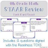 4th Grade Math STAAR Review SCOOT - Mini Set