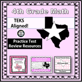 4th Grade Math STAAR Test Prep {Texas Edition} REVISED