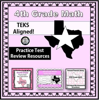 4th Grade Math STAAR Test Prep {Texas Edition} REVISED