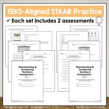 4th Grade Math Test Prep (Multiplication and Division) - TEKS 4.4BCDEFH, 4.5AB