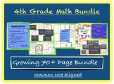4th Grade Math - Singapore Math & Common Core Bundle