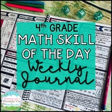 4th Grade Math Skill of the Day | Distance Learning Google