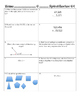 4th Grade Math Spiral Work