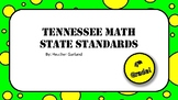 4th Grade Math Standards (TN)