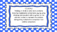 4th Grade Math Standards on Blue Polka Dotted Frame