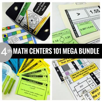 4th Grade Math Centers MEGA BUNDLE