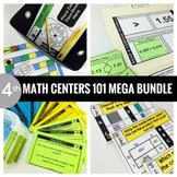 4th Grade Math Centers 101 MEGA BUNDLE
