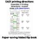 4th Grade Math Data Tracker Flip Book (5 point scale)